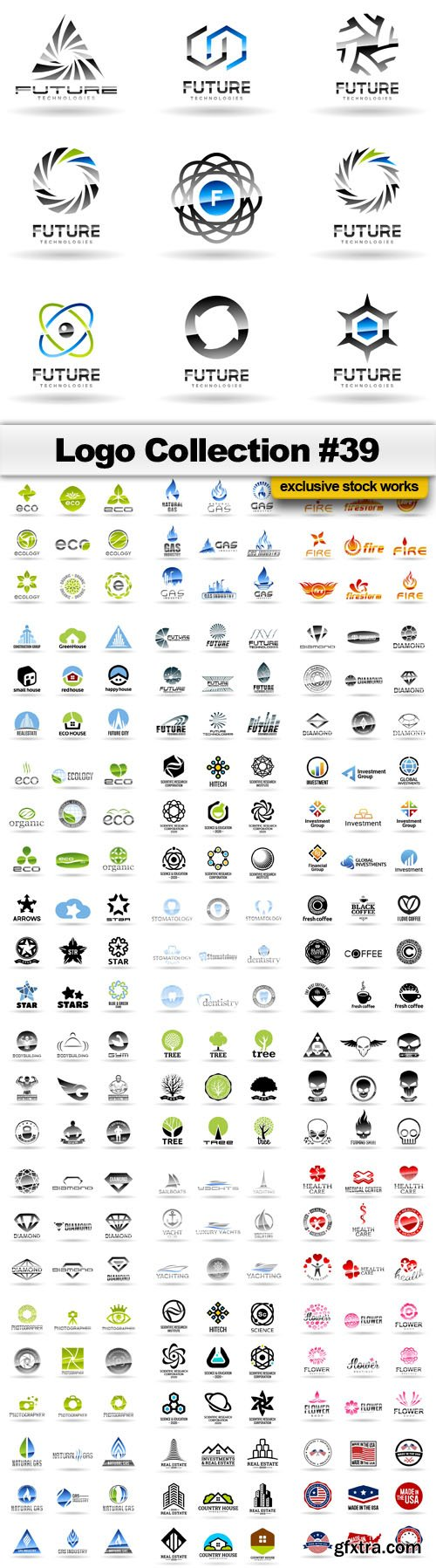 Logo Collection #39 - 25 EPS, AI