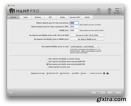 MAMP Pro 3.0.5 (Mac OS X)