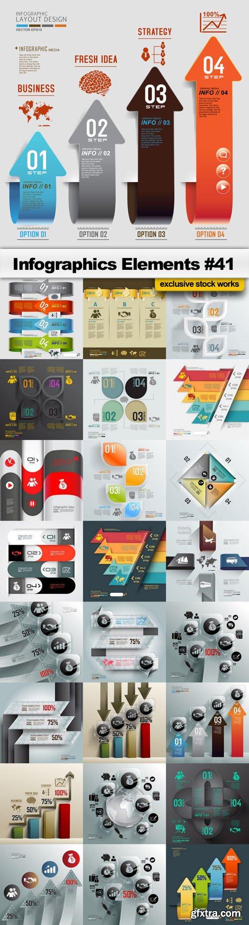 Infographics Elements #41 - 25 EPS