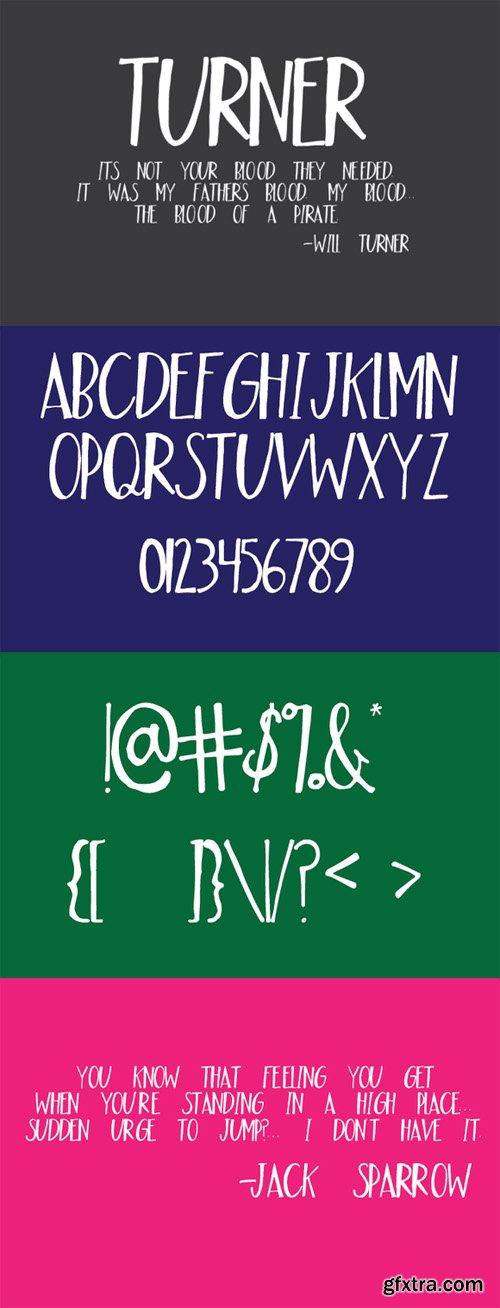 Turner Font