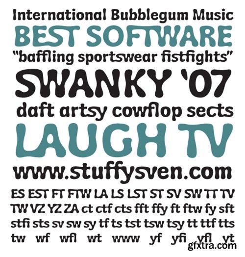 Wubble Font - 1 Font 30$
