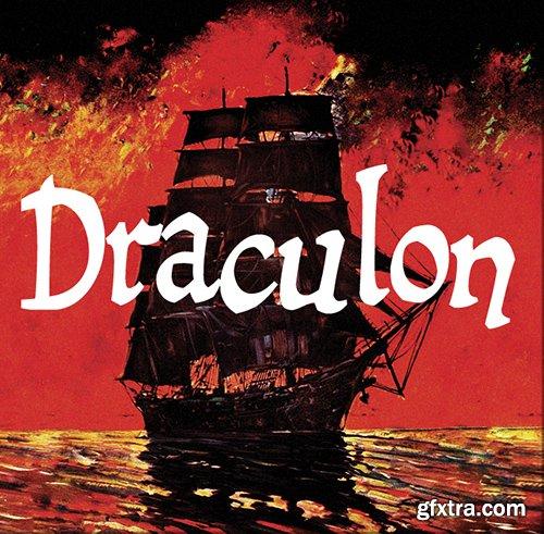 Draculon Font - 1 Font 30$