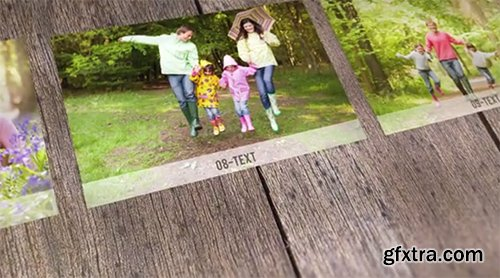 Videohive Photo Gallery on Choosable Background 7275851