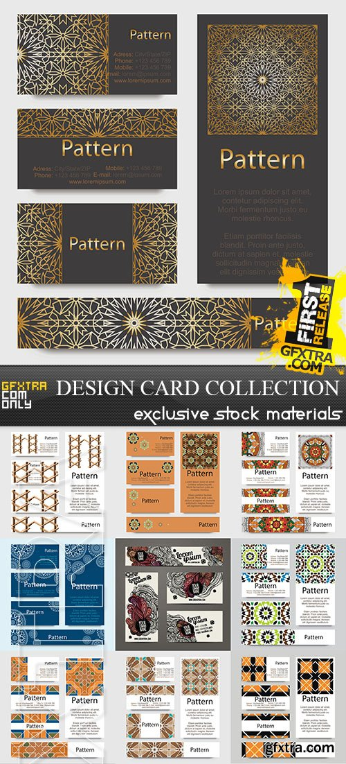 Design of the Card Collection, 25xEPS