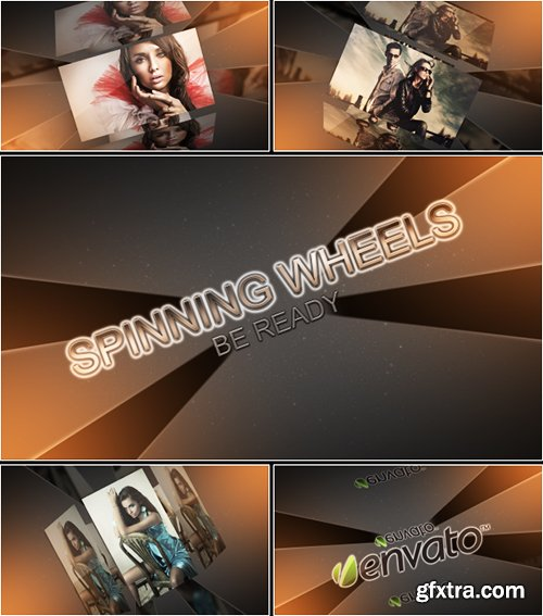Videohive Spinning Wheels 4497450