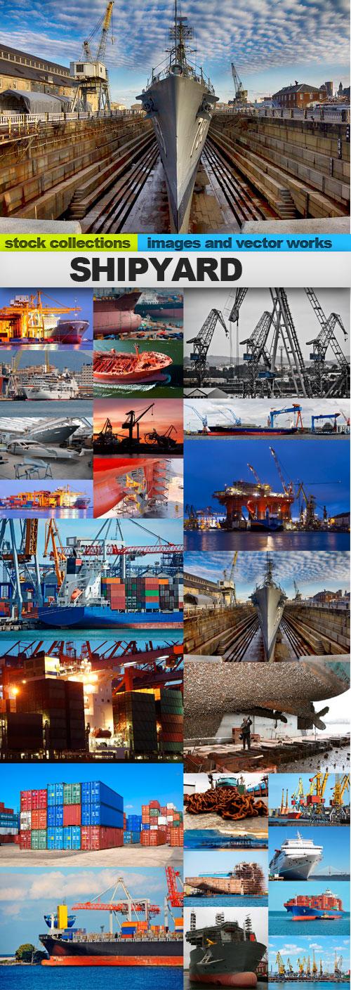 Shipyard,25 x UHQ JPEG
