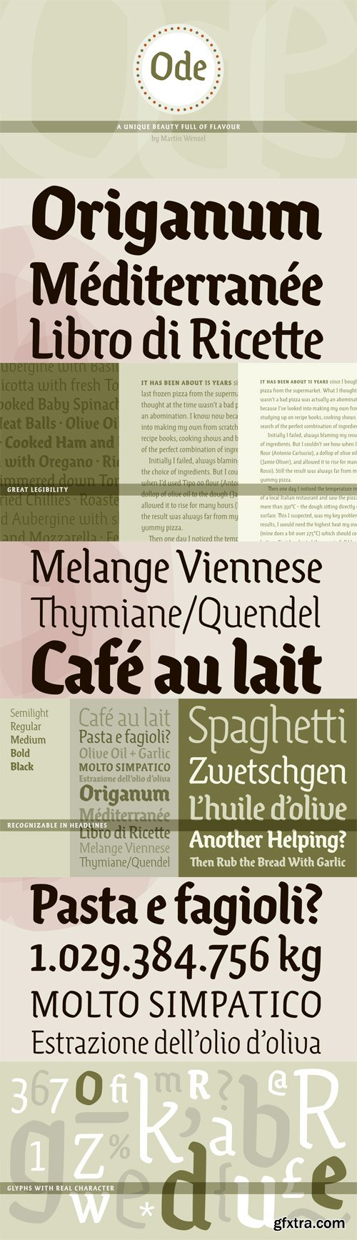 Ode Font Family - 5 Fonts for $219