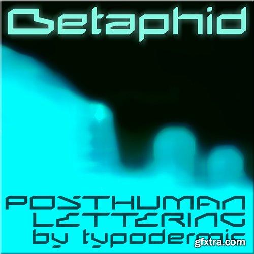 Betaphid Font - 1 Font $30
