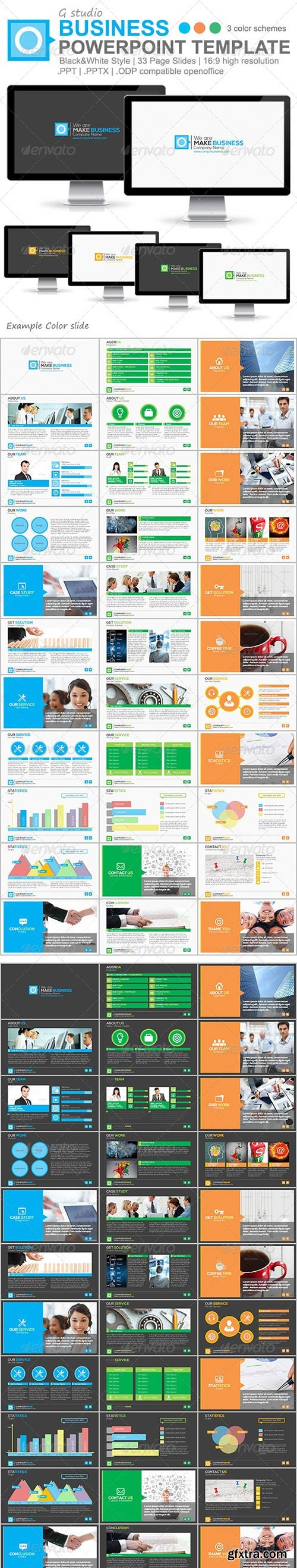 Powerpoint templates ppt pot pps pptx potx ppsx thmx page 132 graphicriver gstudio business powerpoint template powerpoint ppt powerpoint pptx rar 50 mb toneelgroepblik Image collections
