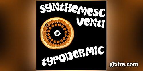 Synthemesc Font - 1 Font $30