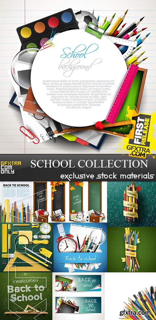 School Collection, 25xEPS