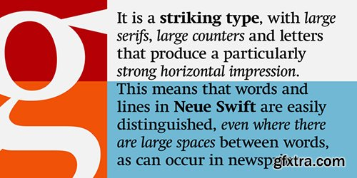 Neue Swift Font Family - 12 Font $948