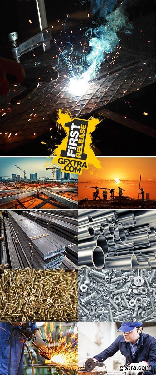 Stock Photo: Metal Constructions