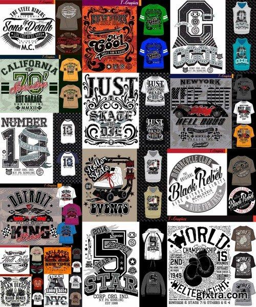 T-Shirt Design #26 - 25xEPS