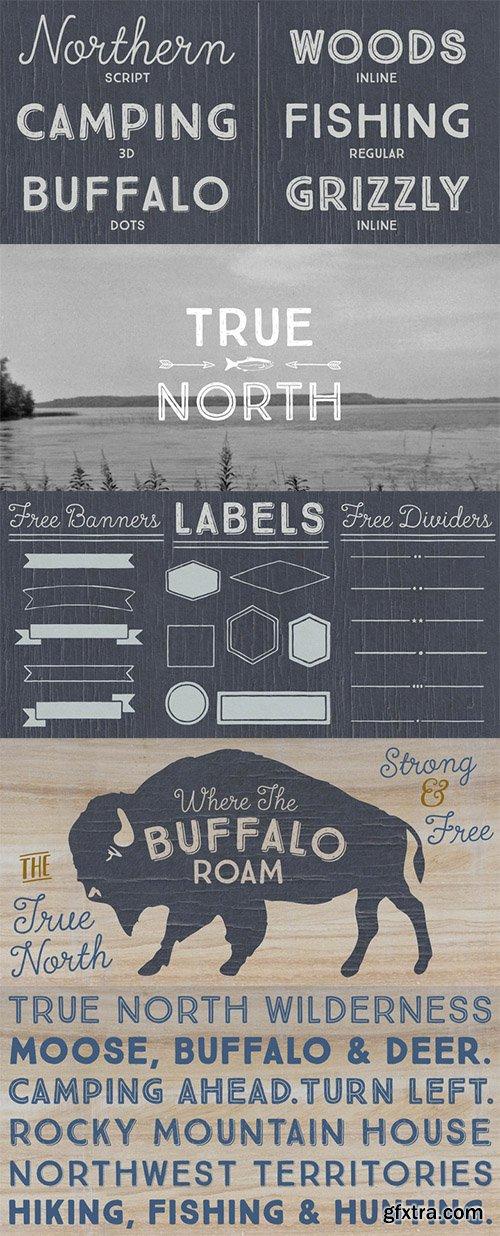 True North Family - 20 Font $395