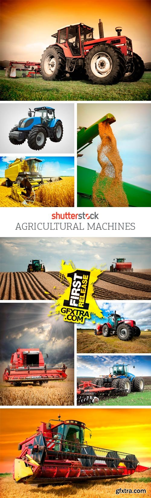 Amazing SS - Agricultural Machines, 25xJPGs