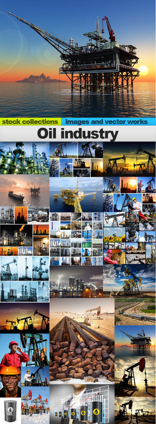 Oil industry,25 x UHQ JPEG