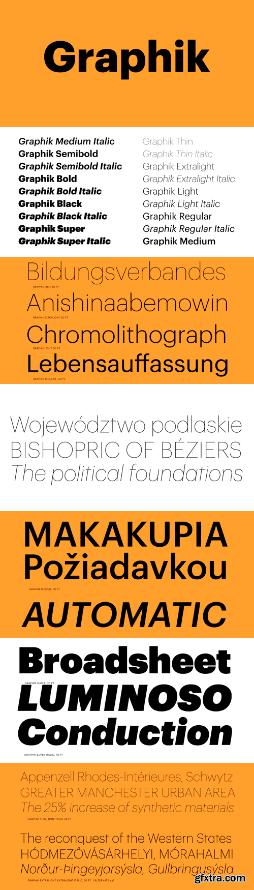 Graphik Font Family - 18 Fonts for $400