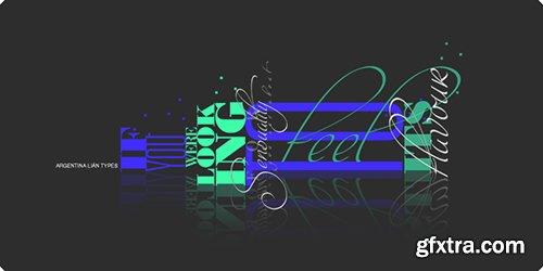 Intima Script Font Family - 3 Fonts $60
