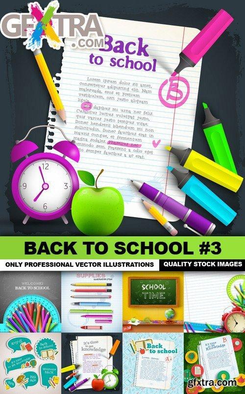 Back To School #3 - 25 Vector