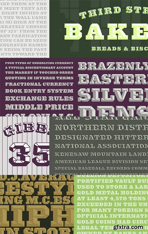 Knox Font Family - 4 Font $129