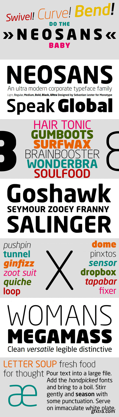 Neo Sans W1G Font Family - 12 Fonts for €1060