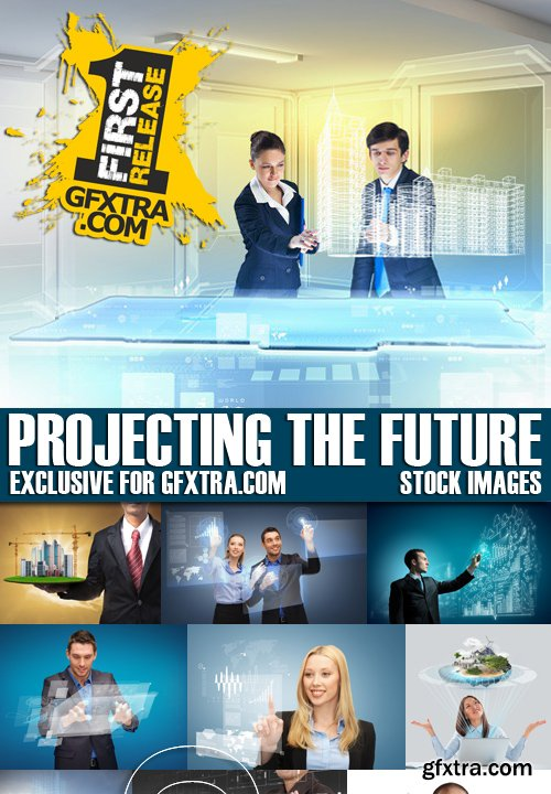 Stock Photos - Projecting The Future, 25xJPG