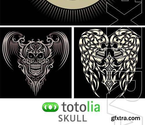 Skull - 25xEPS