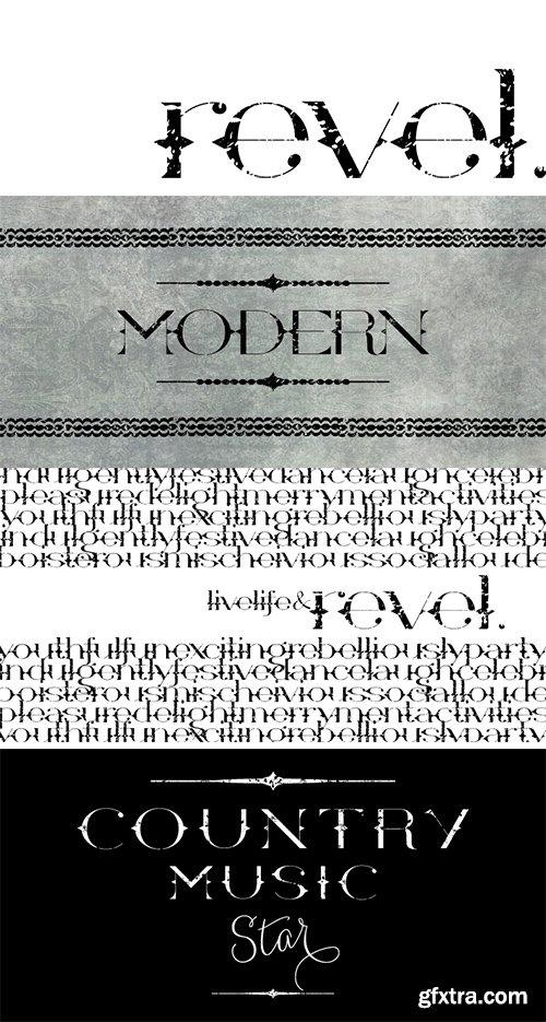 Revel Font - 1 Fonts $21