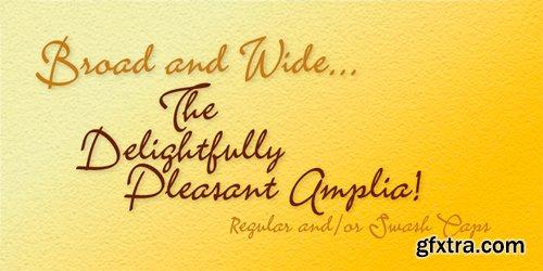 Amplia Font for $45
