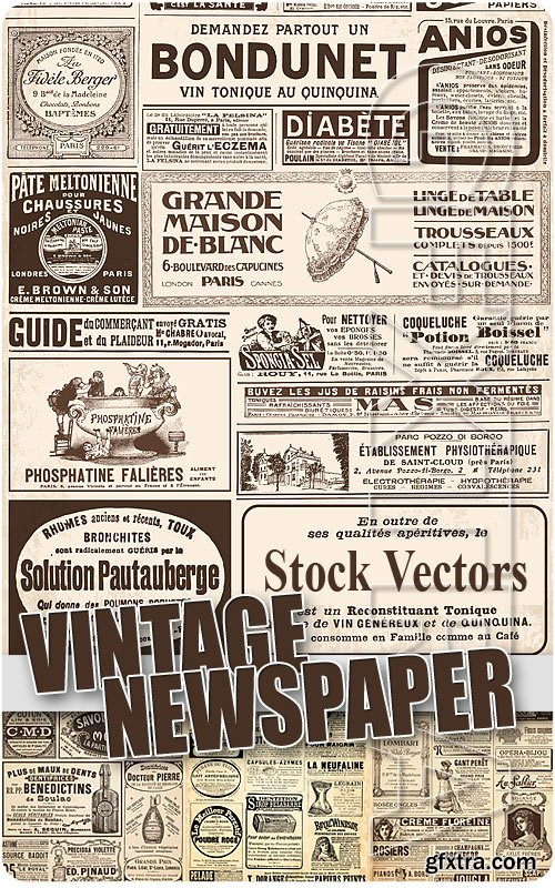 vintage newspaper stock vectors vector photoshop psdafter effects tutorials template 3d