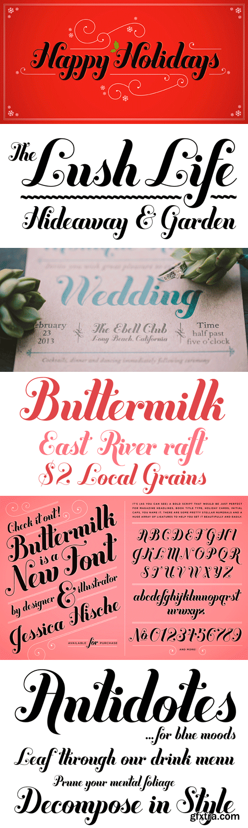 Buttermilk Font for $49