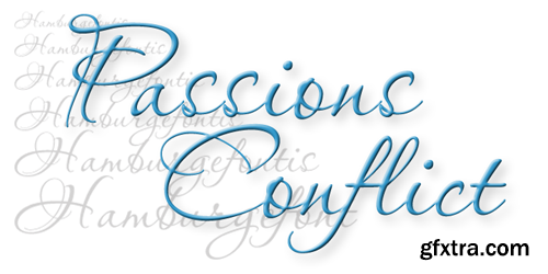 Passions Conflict Font for $25