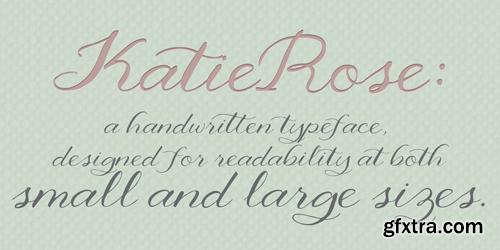 KatieRose Font for $16