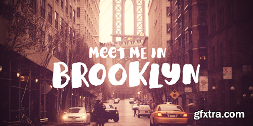 Meet Me In Brooklyn Font for $29