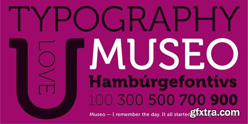 Museo Font Family - 27 Font $445