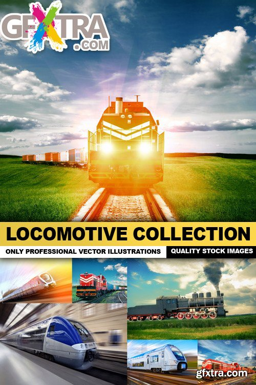 Locomotive Collection - 25 HQ Images