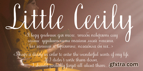 Little Cecily Font fort $25