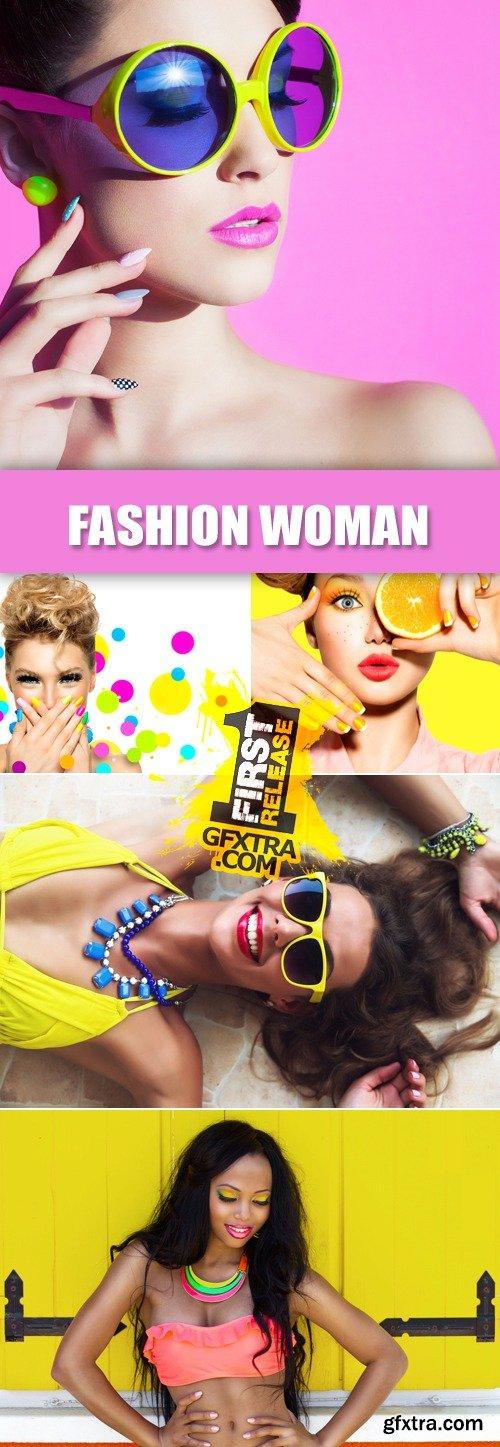 Stock Photo - Beautiful Fashion Woman