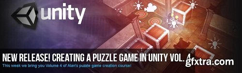 Creating a Puzzle Game in Unity Volume 4