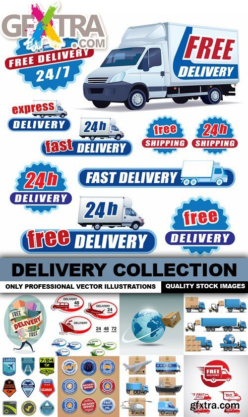 Delivery Collection - 25 Vector