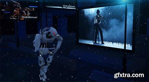 POND5 Hi-Tech Robot Dance 876631 - After Effects Template