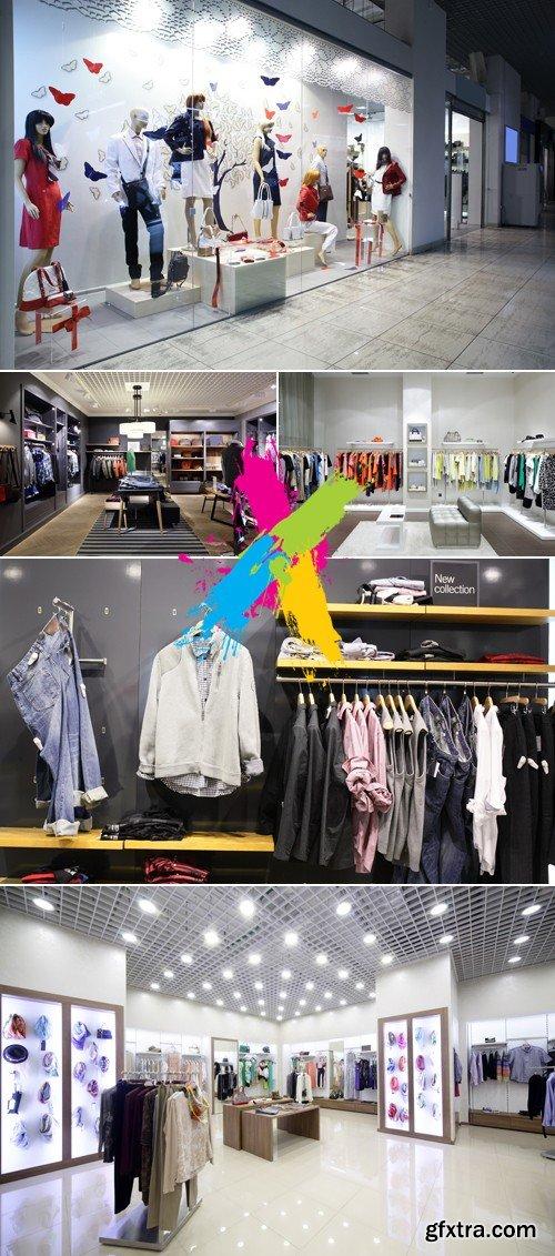 Stock Photo - Fashion Boutique, Store