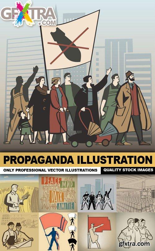 Propaganda Illustration - 25 Vector