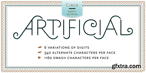 Circe Font Family - 6 Fonts for $220