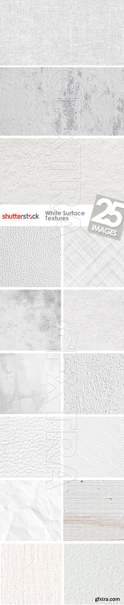 White Surface Textures 25xJPG