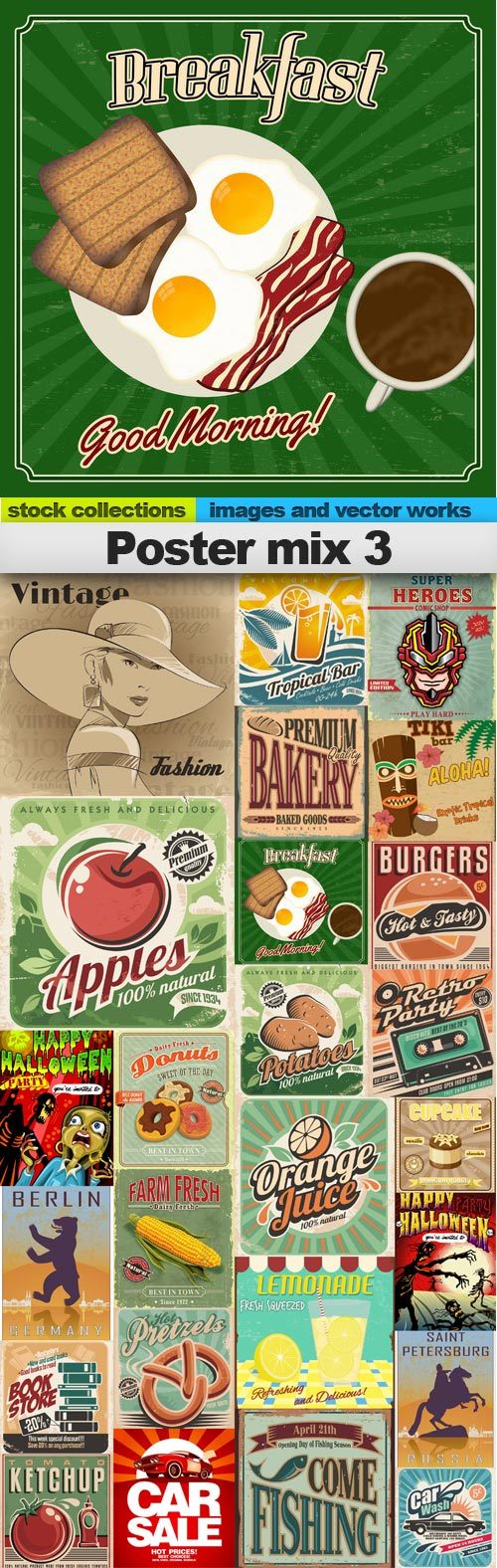 Poster mix 3,25 x EPS