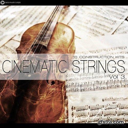 Nano Musik Loops Cinematic Strings Vol 3 ACiD WAV MiDi REX2-MAGNETRiXX