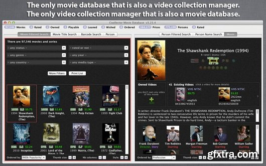 Coollector Movie Database 4.2.7 Retail MacOSX