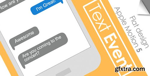 Videohive Text Event 6594563 (Apple Motion